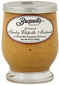 mustard smoky chipotle Braswells Nutrition info