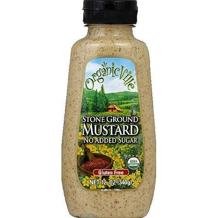 mustard stone ground OrganicVille Nutrition info