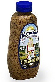 mustard stoneground deli Mustard Girl Nutrition info