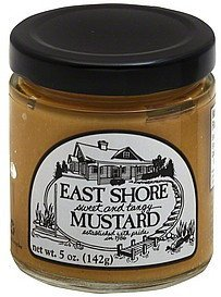 mustard sweet and tangy East Shore Nutrition info