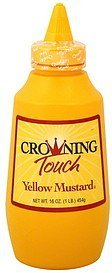 mustard yellow Crowning Touch Nutrition info