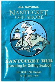 nantucket rub Nantucket Off-Shore Nutrition info