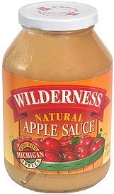 natural apple sauce Wilderness Nutrition info