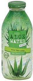 natural detox drink aloe vera juice AloeWater Nutrition info