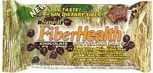 natural nutrition bar chocolate FiberHealth Nutrition info