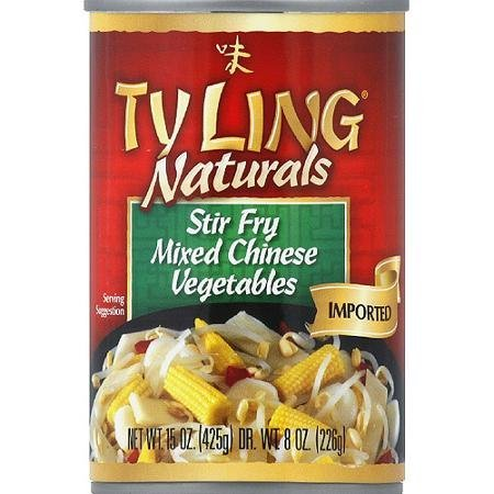 naturals mixed chinese vegetables stir fry Ty Ling Nutrition info