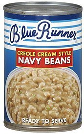 navy beans creole cream style Blue Runner Nutrition info