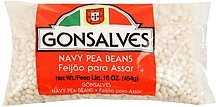navy pea beans Gonsalves Nutrition info