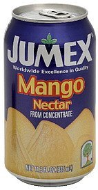 nectar mango from concentrate Jumex Nutrition info