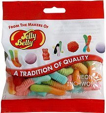 neon inchworms Jelly Belly Nutrition info