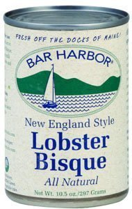 lobster bisque new england style Bar Harbor Nutrition info
