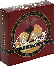 new york cheesecake The Famous Pacific Dessert Company Nutrition info