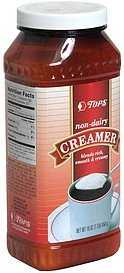 non-dairy creamer Hy Tops Nutrition info