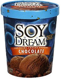 non-dairy frozen dessert chocolate Soy Dream Nutrition info