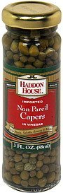 non pareil capers in vinegar Haddon House Nutrition info