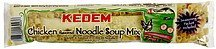 noodle soup mix chicken flavored Kedem Nutrition info