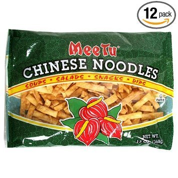 noodles chinese Mee Tu Nutrition info