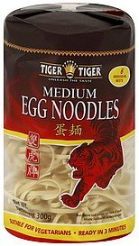 noodles egg, medium Tiger Tiger Nutrition info