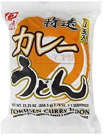 noodles japanese style, tokusen curry udon Myojo Nutrition info