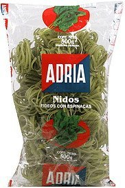 noodles spinach Adria Nutrition info
