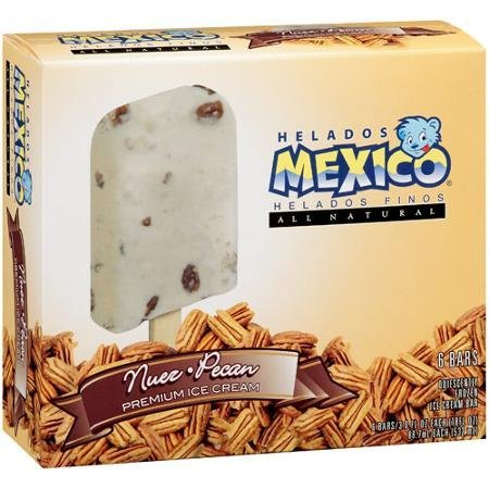 nuez-pecan premium ice cream bars Helados Mexico Nutrition info