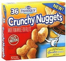 nuggets crunchy Fisher Boy Nutrition info