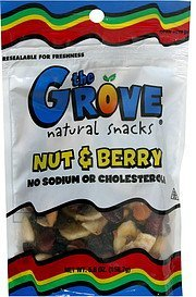 nut & berry The Grove Nutrition info