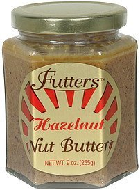nut butters hazelnut Futters Nutrition info