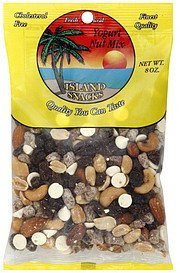 nut mix yogurt Island Snacks Nutrition info