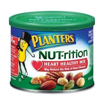 nut-rition mix lightly salted Planters Nutrition info