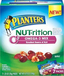 nut-rition mix omega Planters Nutrition info
