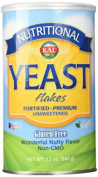 nutritional yeast flakes KAL Nutrition info