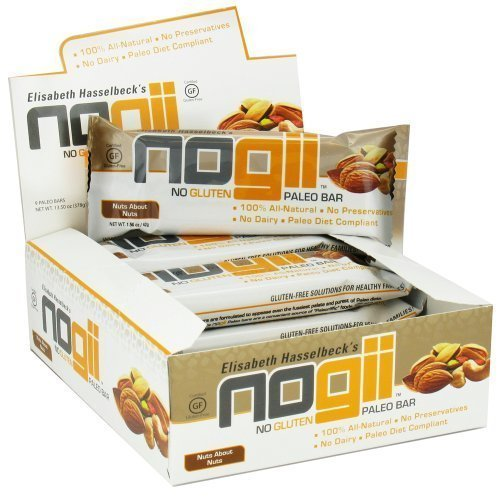 nuts about nuts paleo bar NoGii Nutrition info