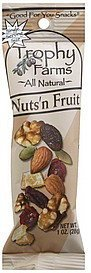 nuts 'n fruit Trophy Farms Nutrition info