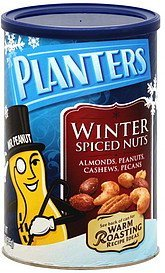nuts winter spiced Planters Nutrition info
