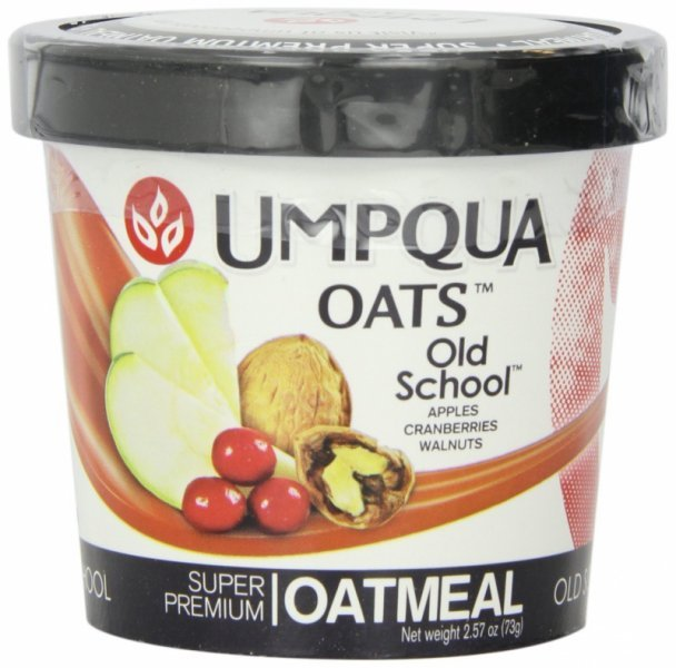 oatmeal all natural, old school Umpqua Oats Nutrition info