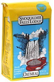 oatmeal Snoqualmie Falls Lodge Nutrition info