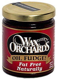 oh fudge Wax Orchards Nutrition info
