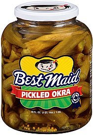 okra pickled Best Maid Nutrition info