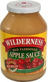 old fashioned apple sauce Wilderness Nutrition info