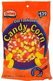 old fashioned candy corn pre-priced Zachary Nutrition info