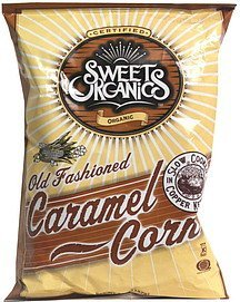old fashioned caramel corn Sweet Organics Nutrition info