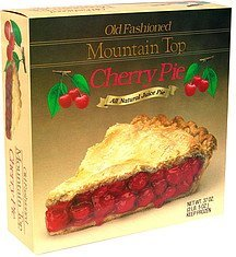 old fashioned cherry pie Mountain Top Nutrition info