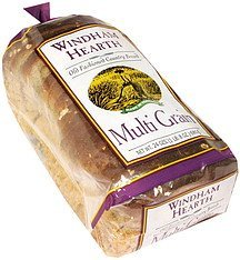old fashioned country bread multi grain Windham Hearth Nutrition info