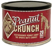 old-fashioned peanut candy Peanut Crunch Nutrition info