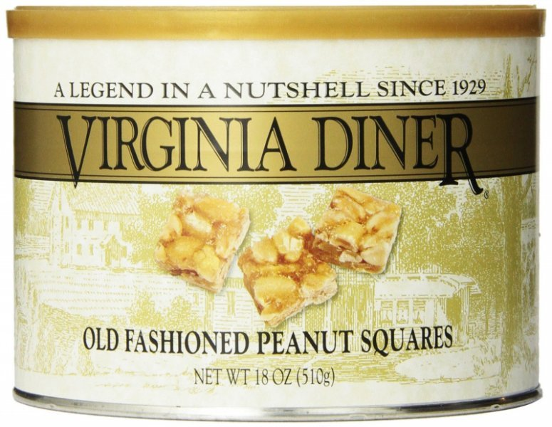 old fashioned peanut squares Virginia Diner Nutrition info