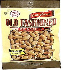 old fashioned peanuts kettle cooked, extra-large Beer Nuts Nutrition info
