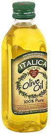 olive oil 100% pure Italica Nutrition info