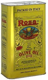 olive oil 100% pure Rosa Nutrition info