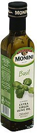 olive oil extra virgin, basil flavored Monini Nutrition info